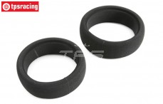 TLR45003 Tire foam Soft TLR 5IVE-B, 2 pcs.