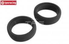 Tire foam Soft, (LOSI 5IVE-B), 2 pcs.