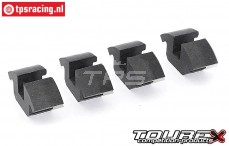 TOU0371/01 Tourex Big Speed2 shoes, 4 pcs.