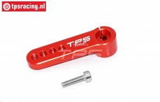 TPS0027/01 Aluminium Servo arm 15T- L39 mm Red, 1 pc.