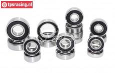 Ball bearing set, (FG 2WD WB535), 14 pcs