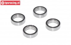 TPS0305/02 ULF Ball Bearing Ø10-Ø15-H4 mm, 4 pcs,