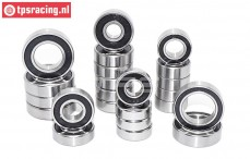 TPS0306/10 Ball bearing FG 4WD On-Road Alloy differential, 22 pcs.