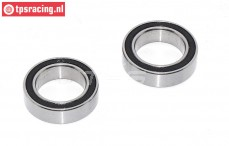 TPS0307/01 ULF Ball bearing Ø17-Ø26-H7 mm, 2 Pcs.