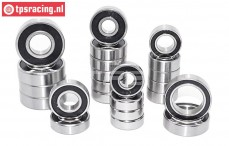 Ball Bearing set, (FG 4WD Off-Road Alloy diff), 23 pcs