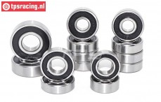 TPS0308 Ball bearing set FG 2WD, 16 pcs.