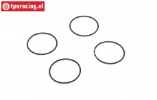 TPS0490/11 Air filter ventury O-ring Ø24-H1 mm, 4 pcs.