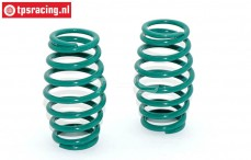 TPS0627 Progressive Shock Spring Green Ø2,8 mm, 2 St.