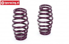 TPS0628 Progressive Shock Spring Purple Ø3,0 mm, 2 pcs.