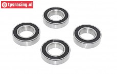 TPS9506 ULF Ball Bearing Ø15-Ø28-H7 mm, 4 pcs,