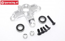 TPS5113/01 Alloy spur gear mount, silver, Set