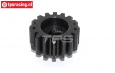 TPS5127 Steel gear with hex 16T, 1 pc.