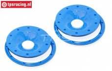 BWS59089/02B Beadlocks Disk Bleu Ø120 mm, 4 pcs.