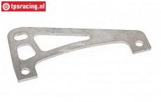 TPS0448 Stainless Steel rear axle brace FG 2WD, 1 pc.