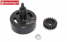 TPS7056 Clutch bell TPS hex LOSI-BWS-TLR, Set