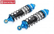 Shockabsorber front, (LOSI 5IVE-MINI WRC), (Aluminiuml), Set
