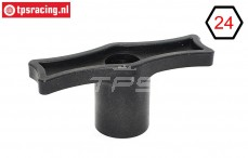 TPS9022 Plastic Wheel wrench 24 mm Hex, 1 pc.