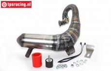 VRC8730 VRC Big-Bore Torque-S Tuning Pipe LOSI DBXL, Set