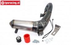 VRC8720 VRC Torque-S Tuning Pipe LOSI DBXL, Set