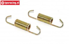 VRC8001/04 Exhaust Spring Ø9-L48 mm, 2 pcs.