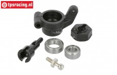 XR-FG8019 X-Rider Flamingo Rear Hub, set