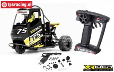 XR83001-04 X-Rider Flamingo Black RTR, Set