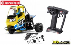 XR83001-02 X-Rider Flamingo Yellow RTR, Set