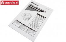 ZN1808 Zenoah G230-G260 Service Manual, 1 pc.