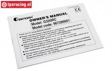 ZN0403 Zenoah G320 Service Manual, 1 pc.