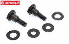 ZN0032T Zenoah Tuning Clutch shoe bolt, Set