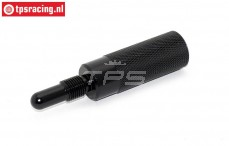 TPS0354/03 Alloy piston stopper Black, 1 pc.