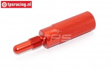 TPS0354/05 Alloy piston stopper Red, 1 pc.