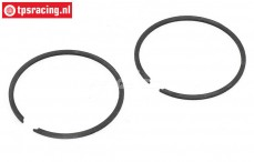 Piston Ring Flex Zenoah G320, (Ø38-1,0 mm), 2 pcs